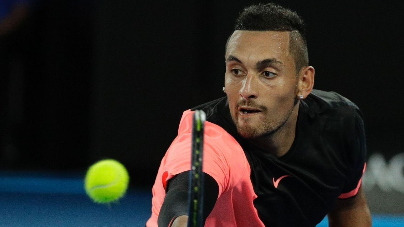 Nick Kyrgios pulls out of French Open with elbow injury