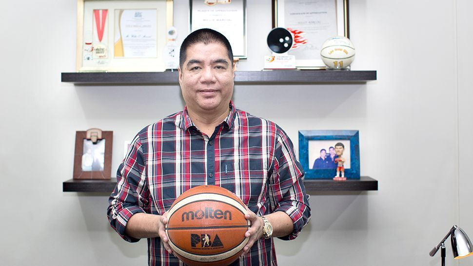 From statistician to Commissioner: How Willie Marcial rose to the top of the PBA