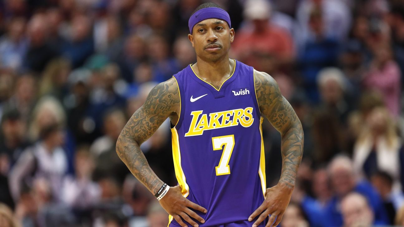 Isaiah Thomas to miss Lakers' next two games due to sore right hip