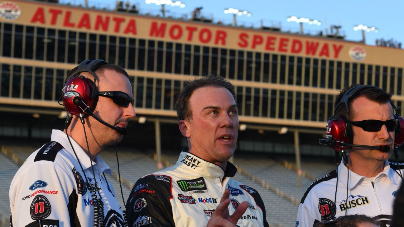 Time is now on Kevin Harvick