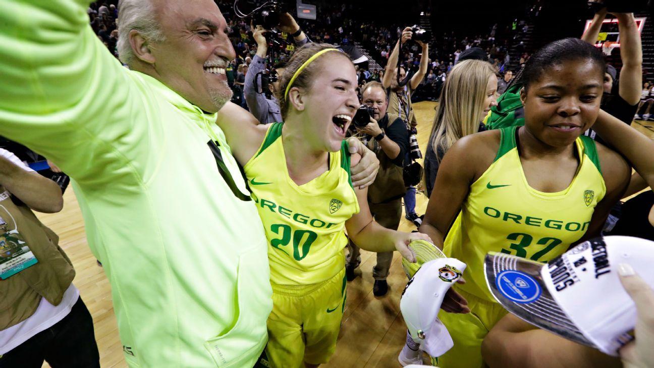 Sabrina Ionescu, Oregon Ducks dethrone Stanford Cardinal for Pac-12 tournament title
