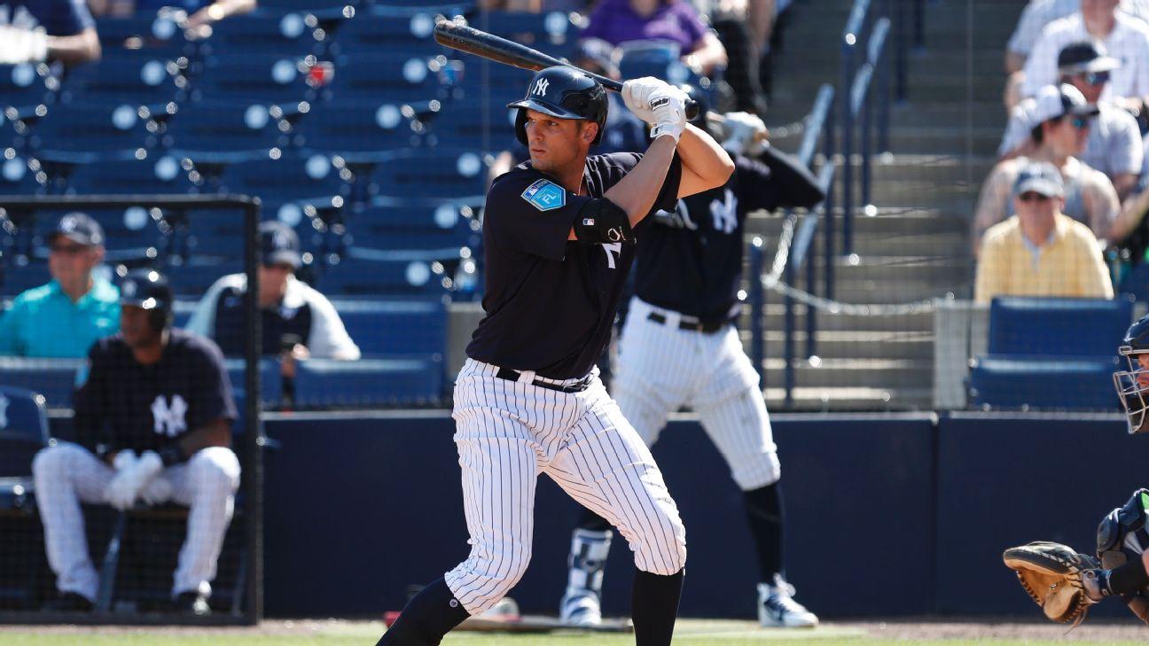 Fantasy MLB - First base position preview - Greg Bird ...