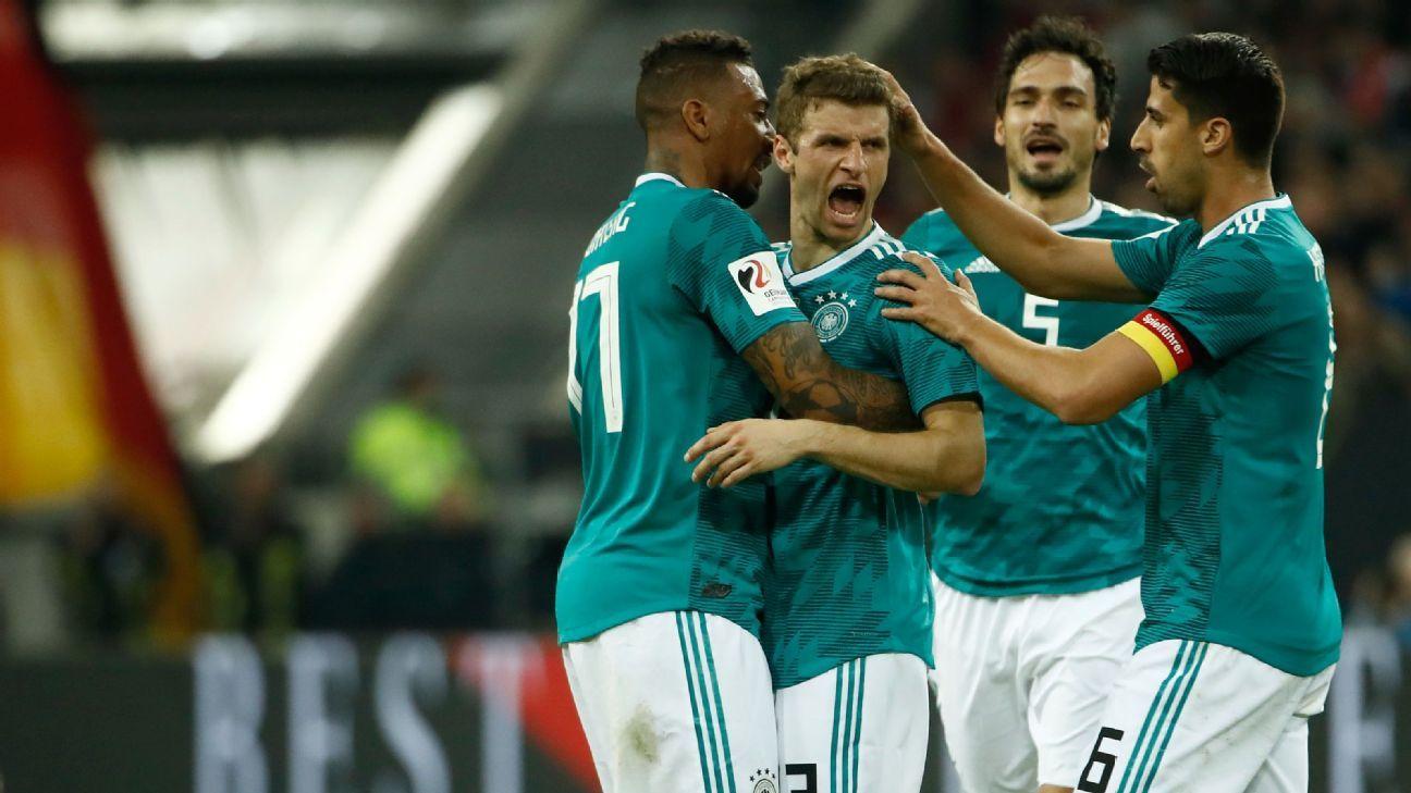 Link trực tiếp Đức vs Peru, 1h45 ngày 10/9