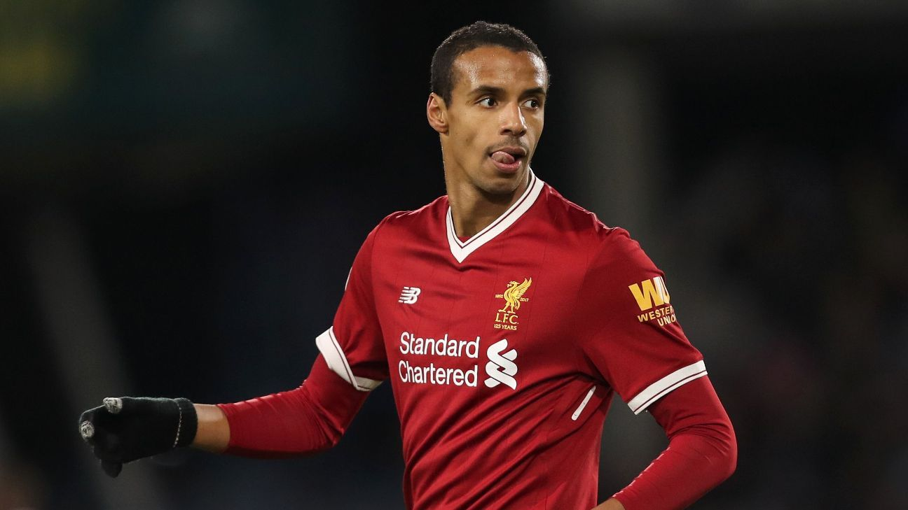 Liverpool's Matip might have 'small tear' - Klopp