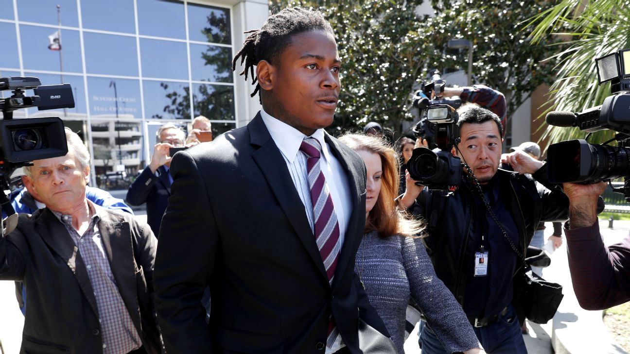The Santa Clara County District Attorney's office delayed Reuben Foster's plea hearing to May 8 so it can review a video provided by his ex-girlfriend that she says shows she was in an altercation with another woman and not Foster.