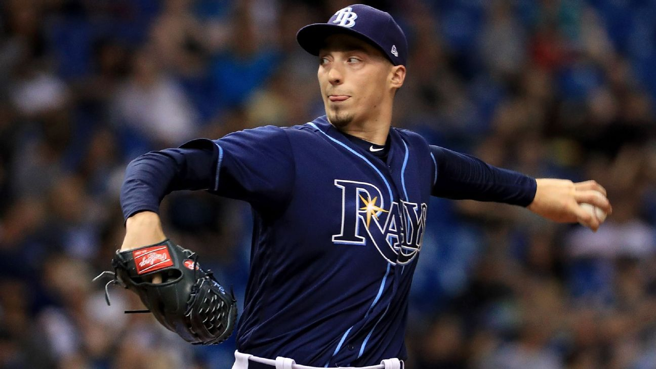 Blake Snell of Tampa Bay Rays is the AL Cy Young Award winner