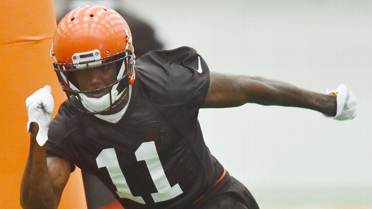Browns rookie receiver Antonio Callaway had bullets and gun parts in his car when he was cited for marijuana possession.
