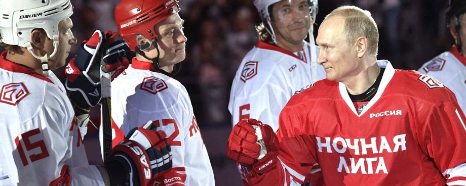 Russian President Vladimir Putin Scores 5 Goals In Exhibition Hockey Game