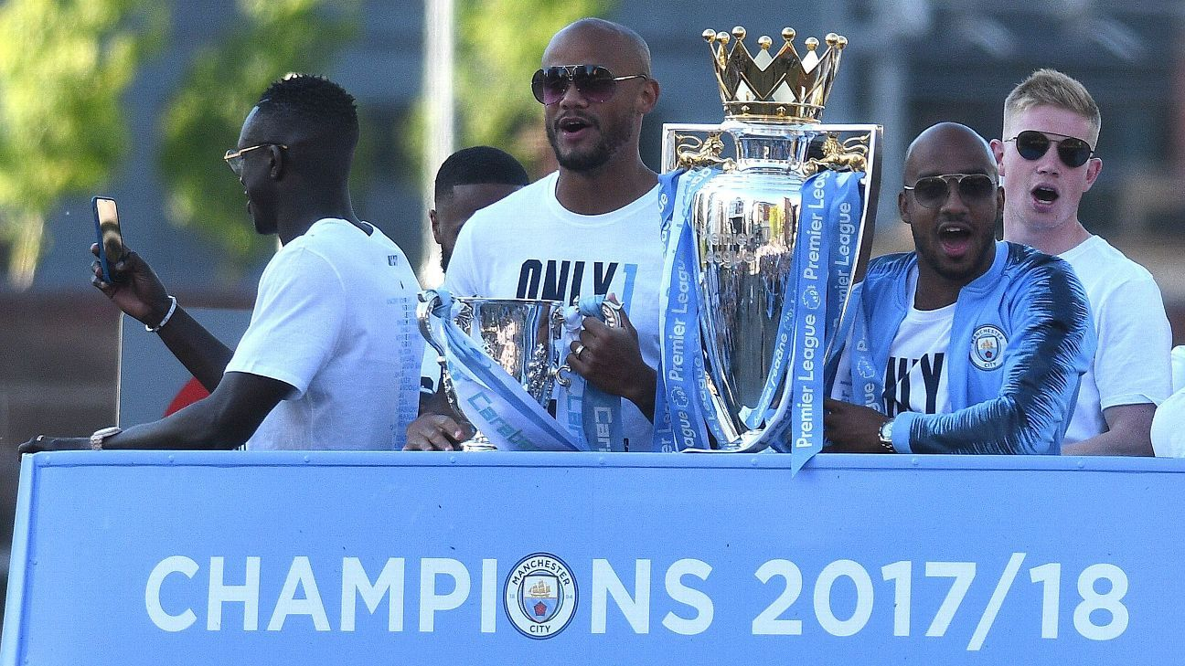 Man City have 10-year plan to dominate - chief