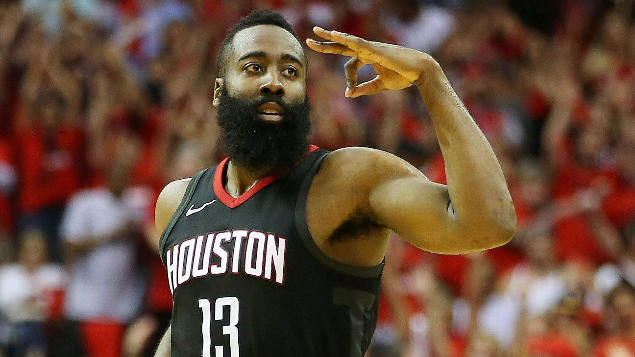 Players vote Harden as NBA MVP for 2nd time