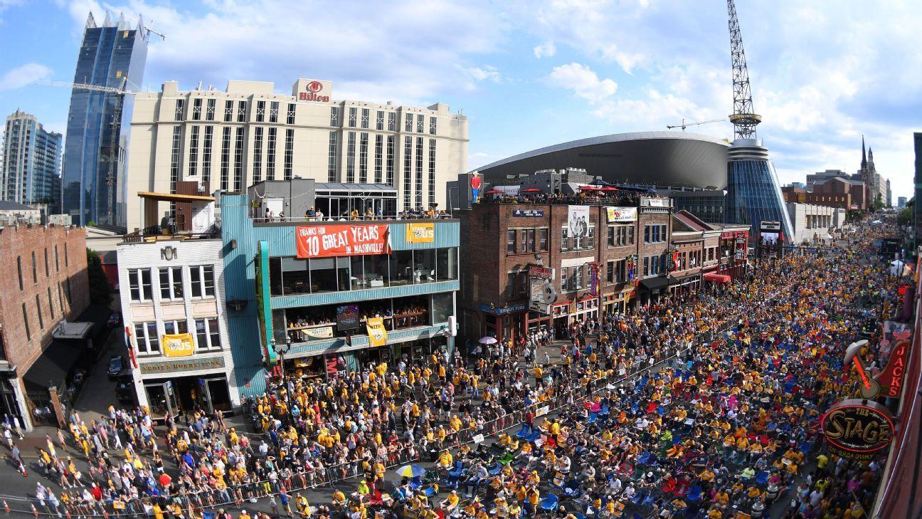 Pick is in: Nashville awarded 2019 NFL draft