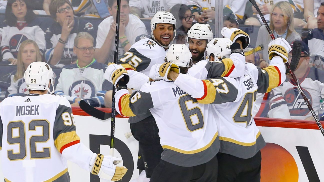 Golden Knights' band of 'misfits' surge into Stanley Cup Final, extend improbable run