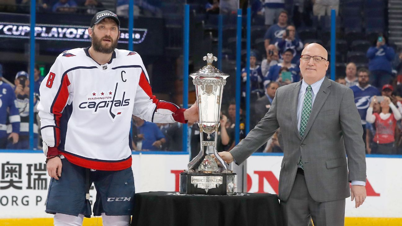 Alex Ovechkin, Washington Capitals finally reach Stanley Cup final after Game 7 win over Tampa Bay Lightning ...