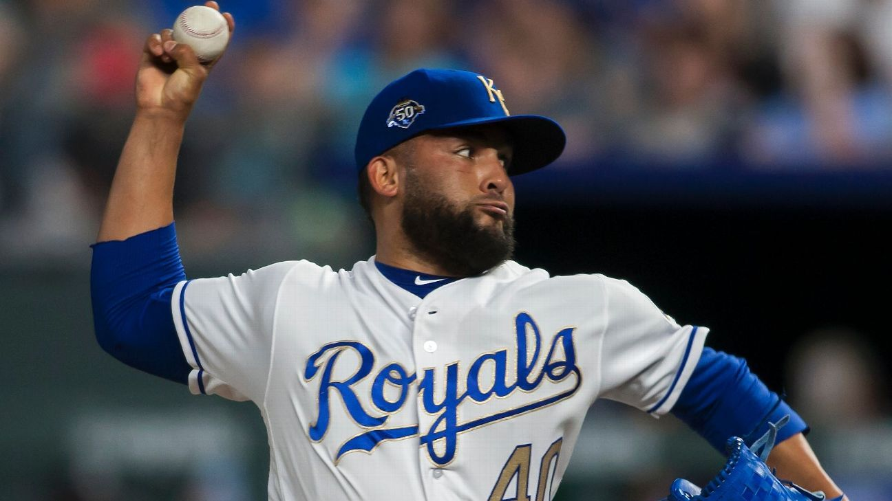 Nationals acquire closer Herrera from Royals