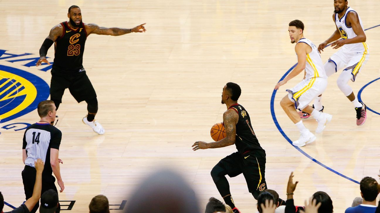 JR Smith of Cleveland Cavaliers changes tune on Game 1 blunder, ready to turn page to Game 2