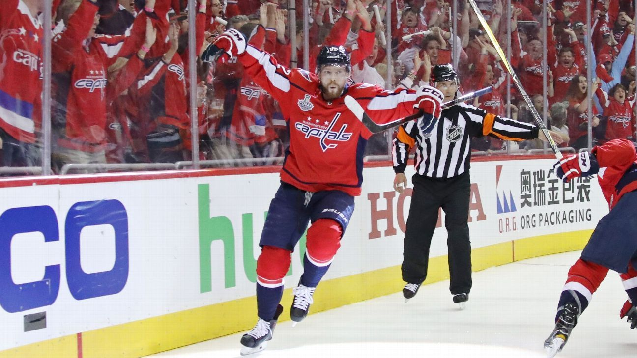 2018 Stanley Cup Final - Conn Smythe race as playoff MVP down to Alex Ovechkin, Evgeny Kuznetsov ...