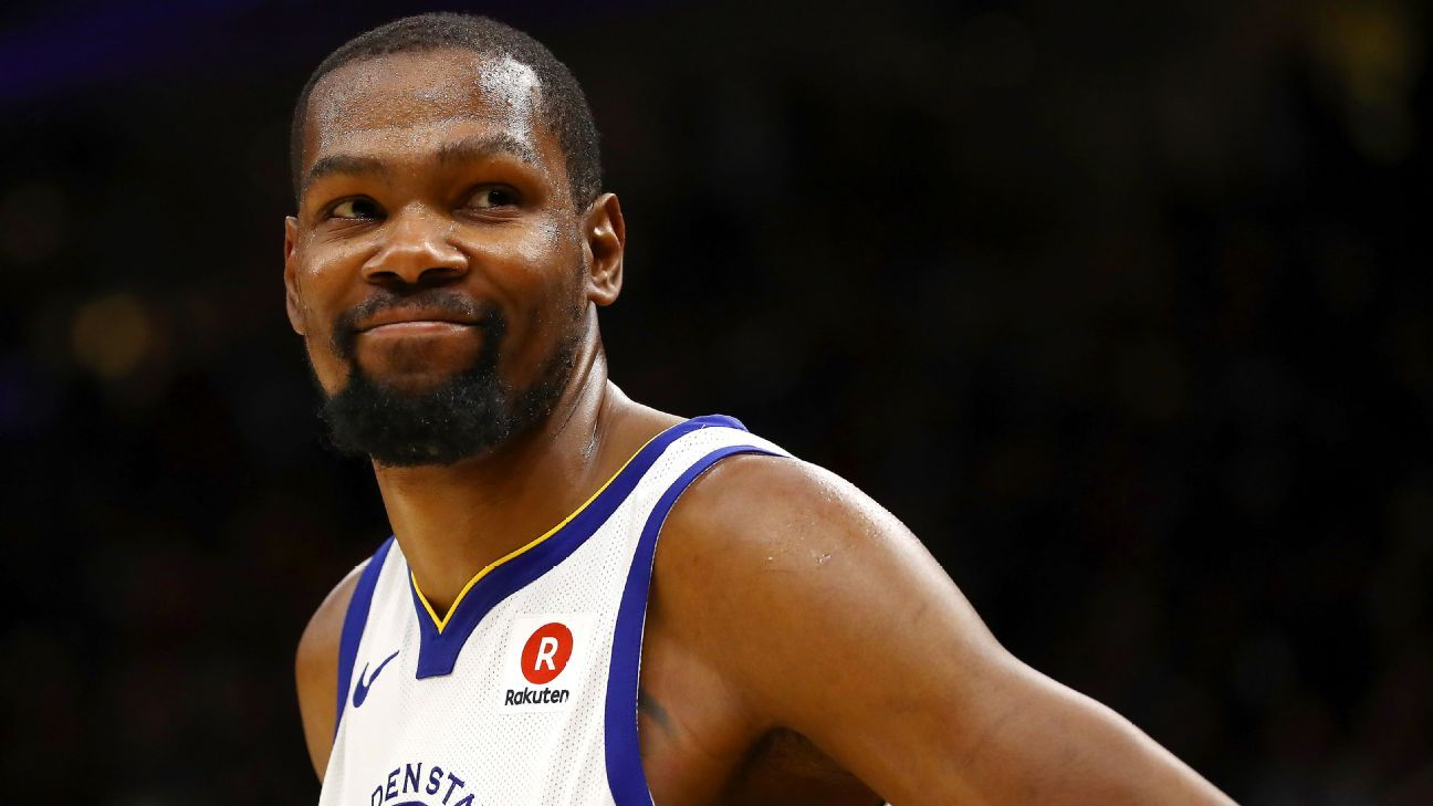 Durant to be 'honest' about free-agent process