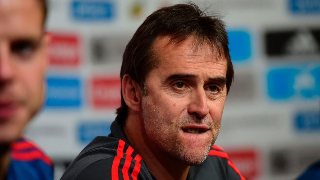 Julen Lopetegui sacked by Spain before World Cup after taking Real Madrid job