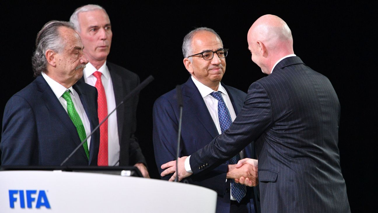 U.S., Mexico, Canada to co-host 2026 World Cup
