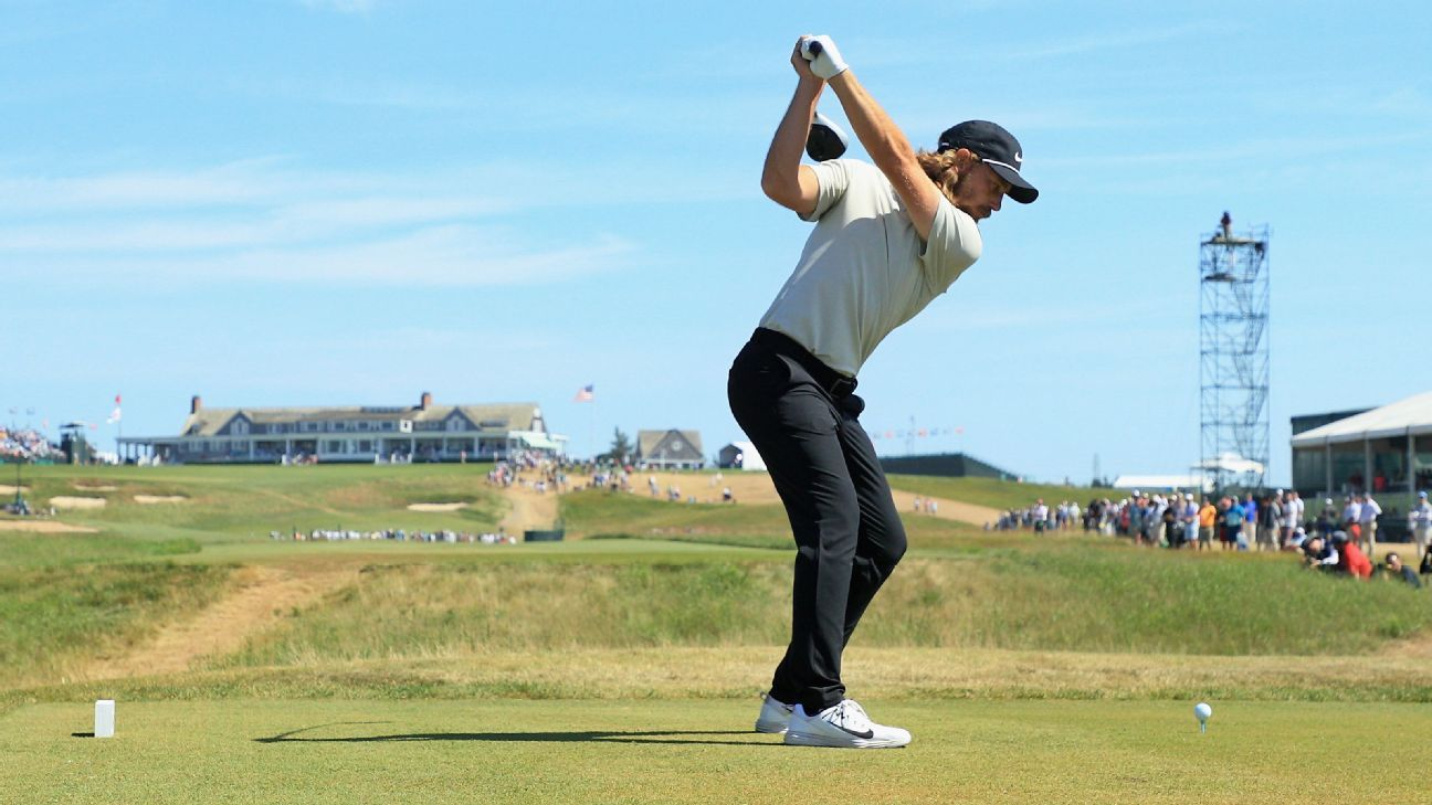Waiting wasn't the hardest part for Tommy Fleetwood on Sunday at US Open