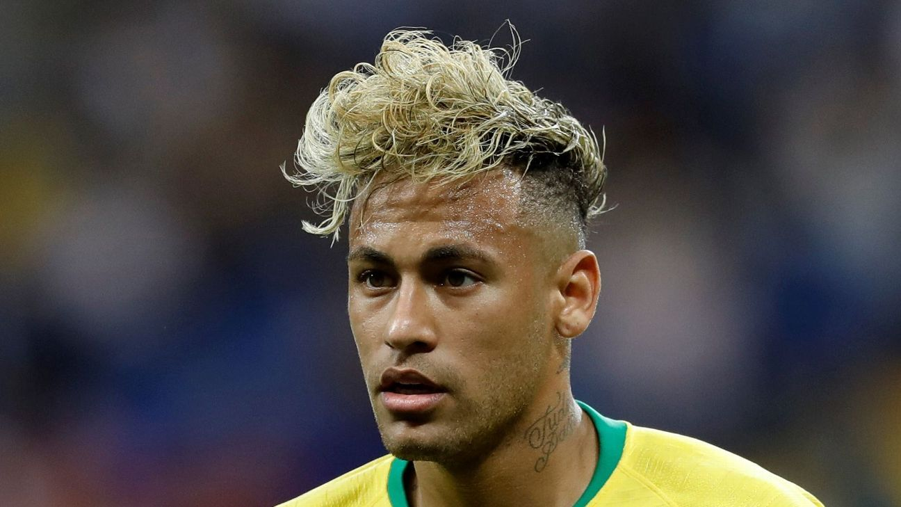Neymar Debuts Another New Hairstyle After Abandoning Blonde Quiff
