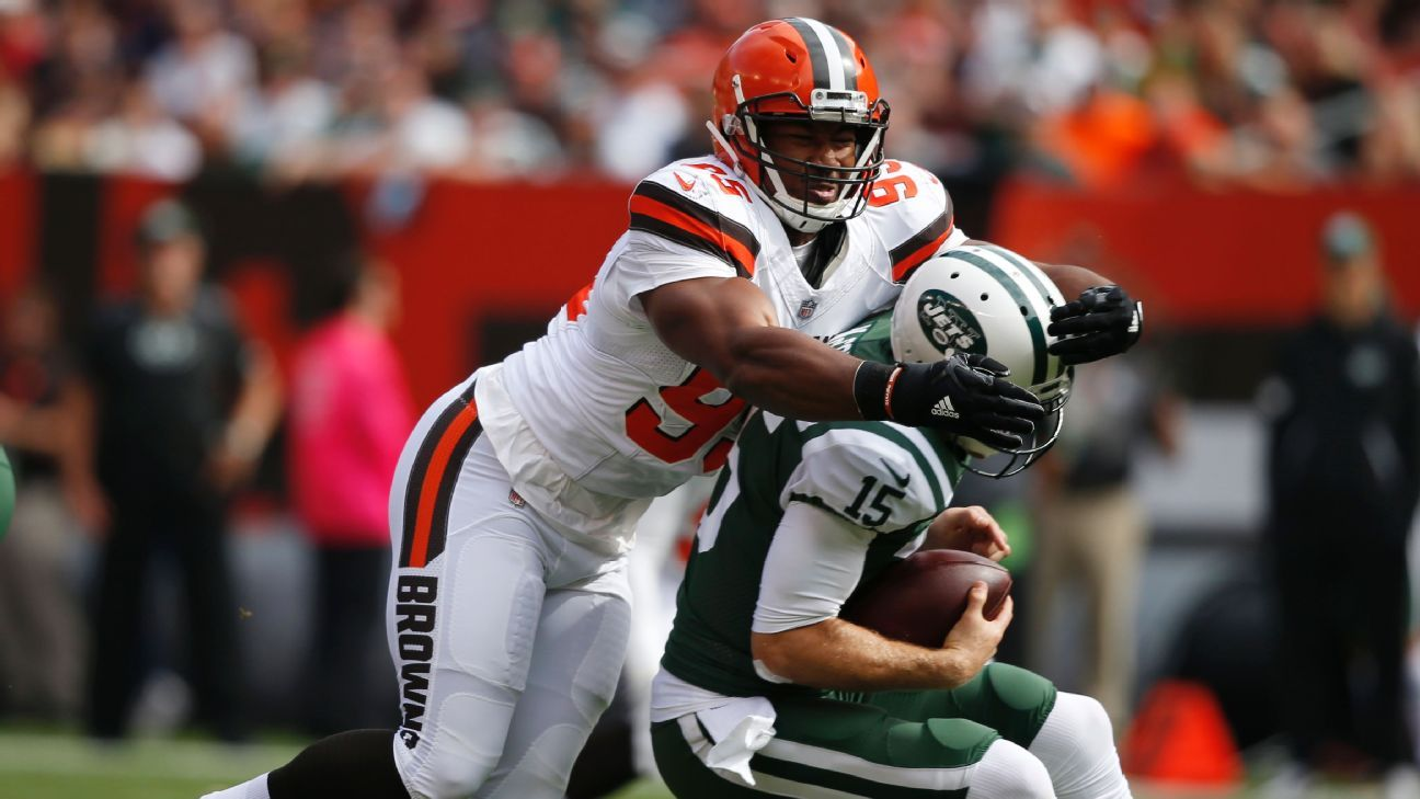 Myles Garrett had a good yet injury-shortened rookie season, but the Browns and Garrett himself believe big things are in store for Year 2.