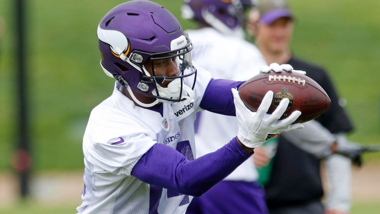 Stefon Diggs and Xavier Rhodes sat out the Vikings' practice Wednesday -- but not due to injury.