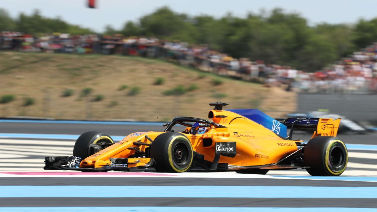 Fernando Alonso hopes Paul Ricard struggles are a 'one-off'