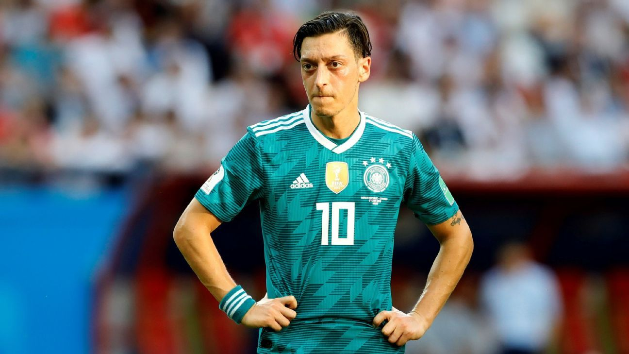 Ozil retires from Germany after political tensions