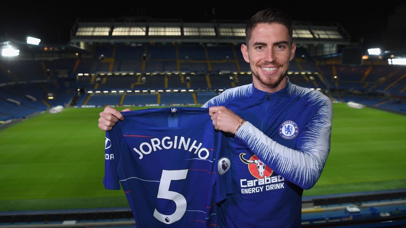 Man City 'not disappointed' over Jorginho - Pep