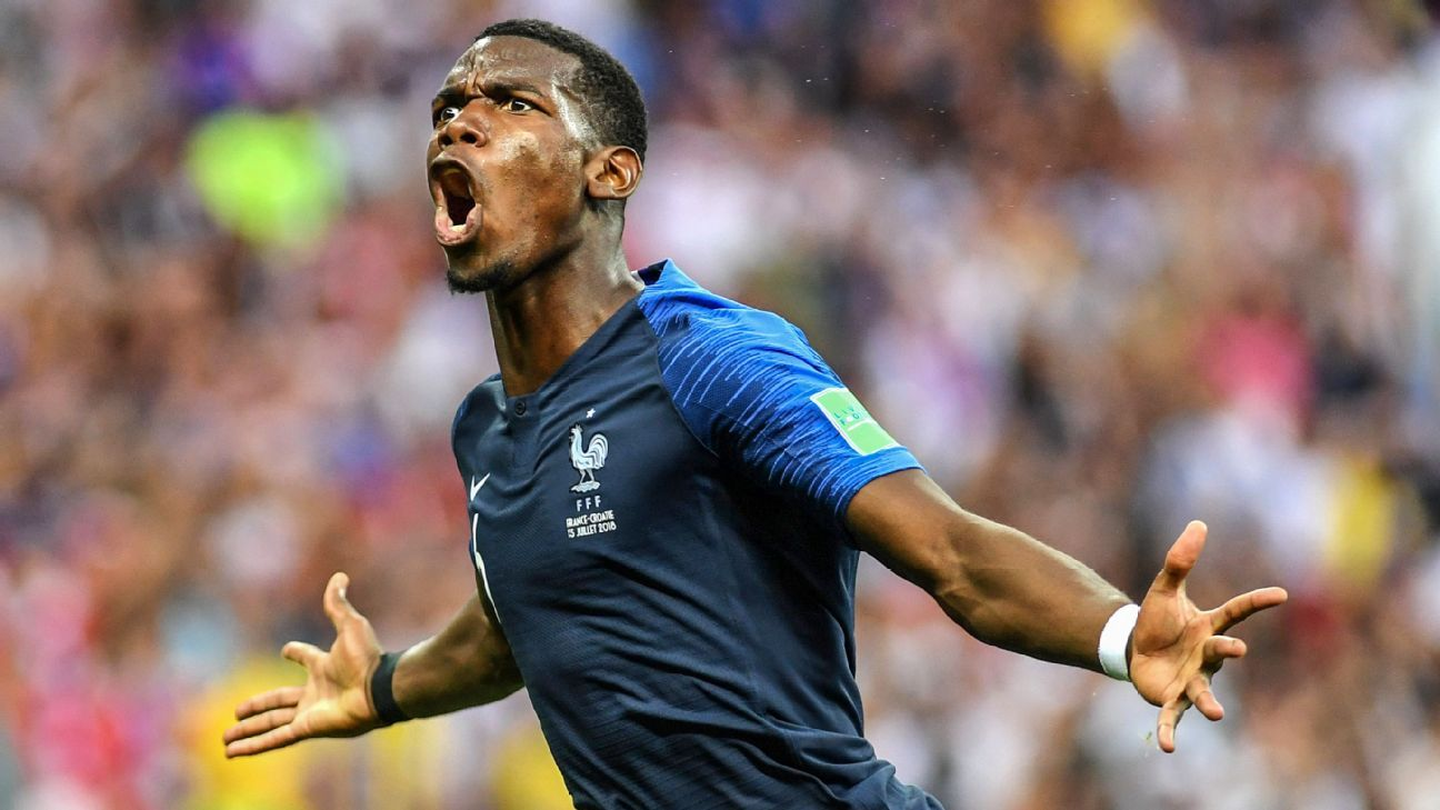 Mou challenges Pogba to recreate World Cup form