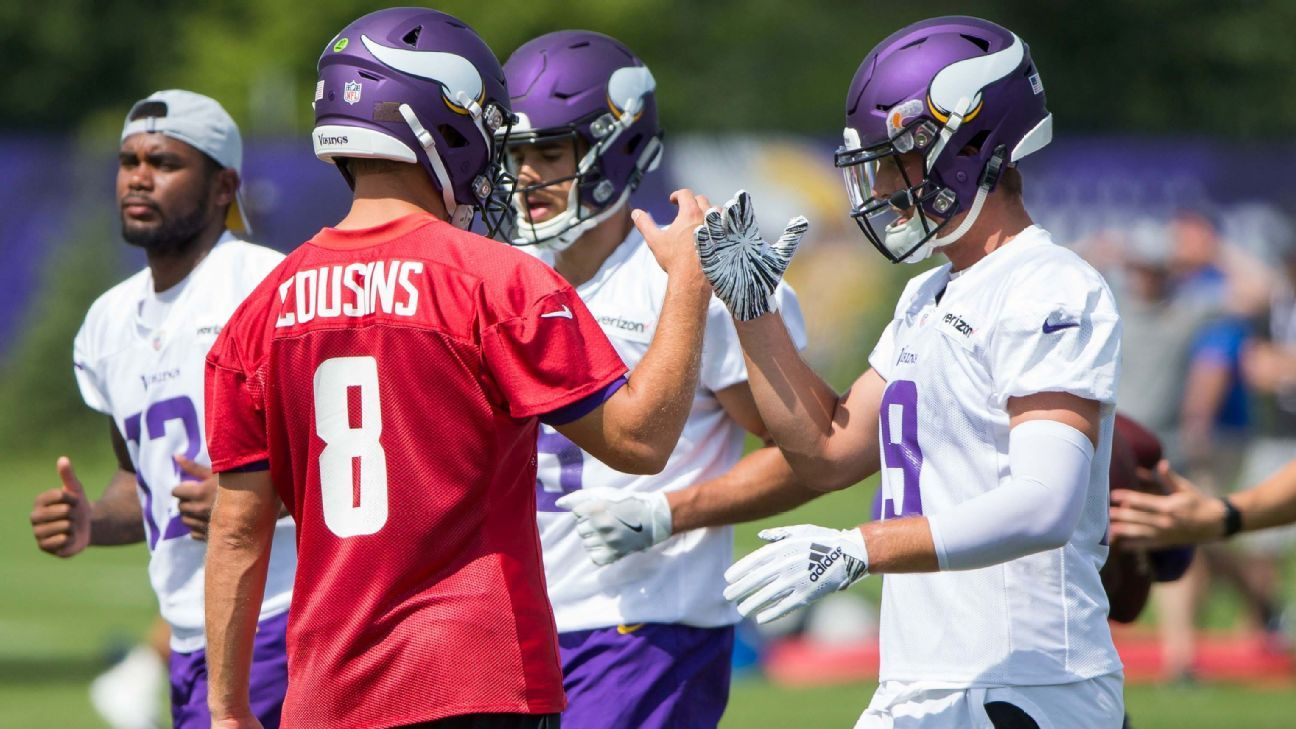 Even with Kirk Cousins under center, the numbers say the Vikings will be worse in 2018.
