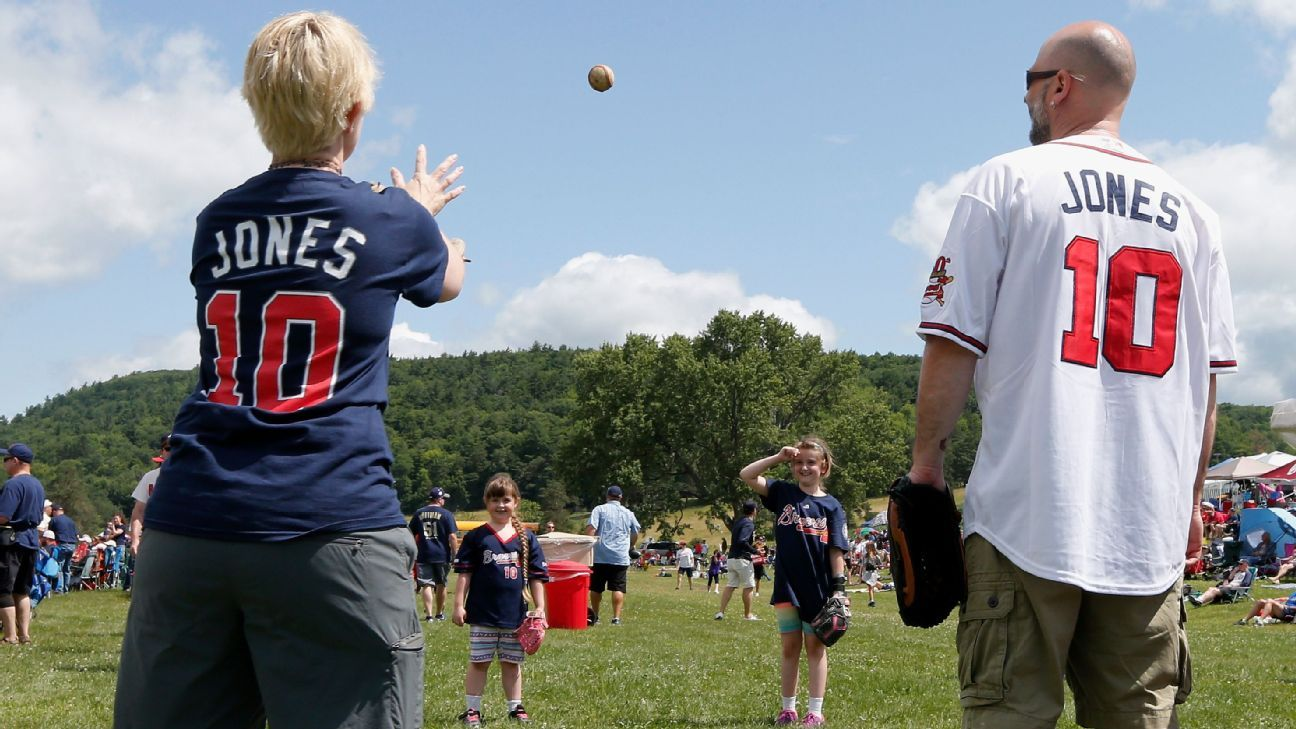 Scenes from Cooperstown, where the game is always good