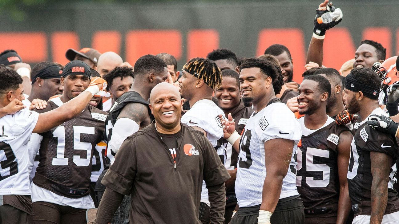 There's nowhere to go but up for the 0-16 Browns. Here's why Cleveland -- and five more teams -- will take steps forward this season.