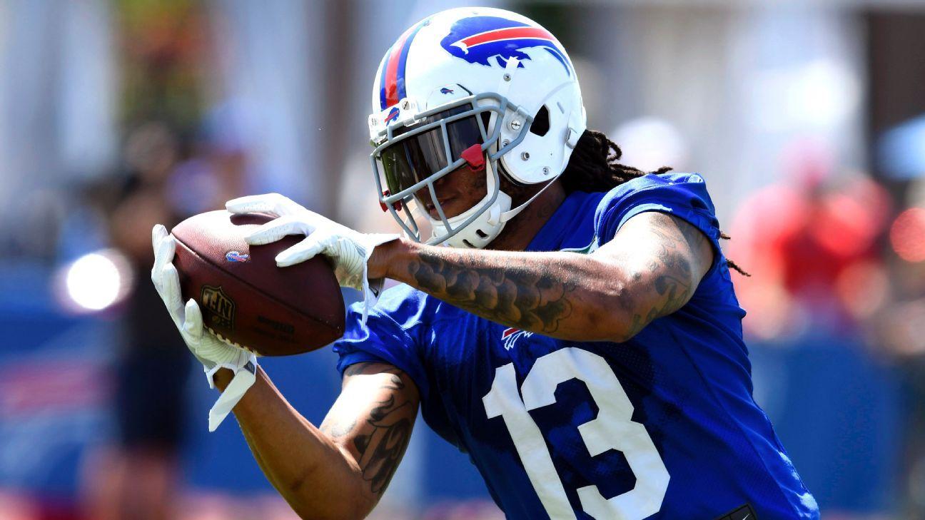 Bills receiver Kelvin Benjamin said he was not