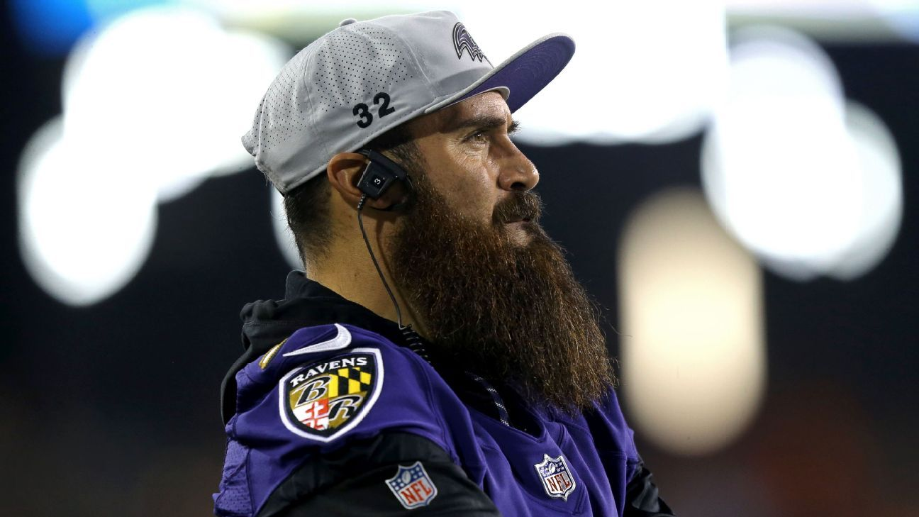 The Ravens' Eric Weddle believes the run-pass option will be out of the NFL in five years and is