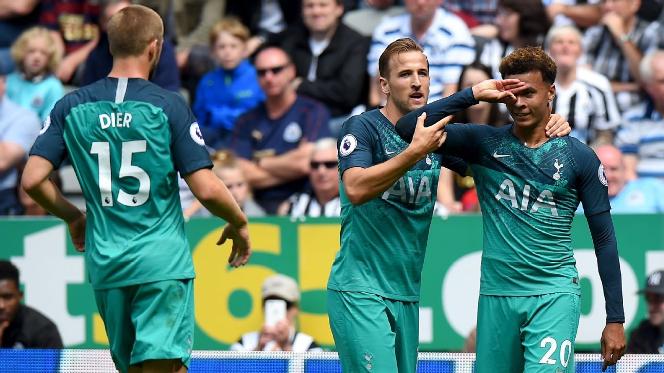 Newcastle United vs. Tottenham Hotspur - Football Match Report - August 11, 2018 - ESPN