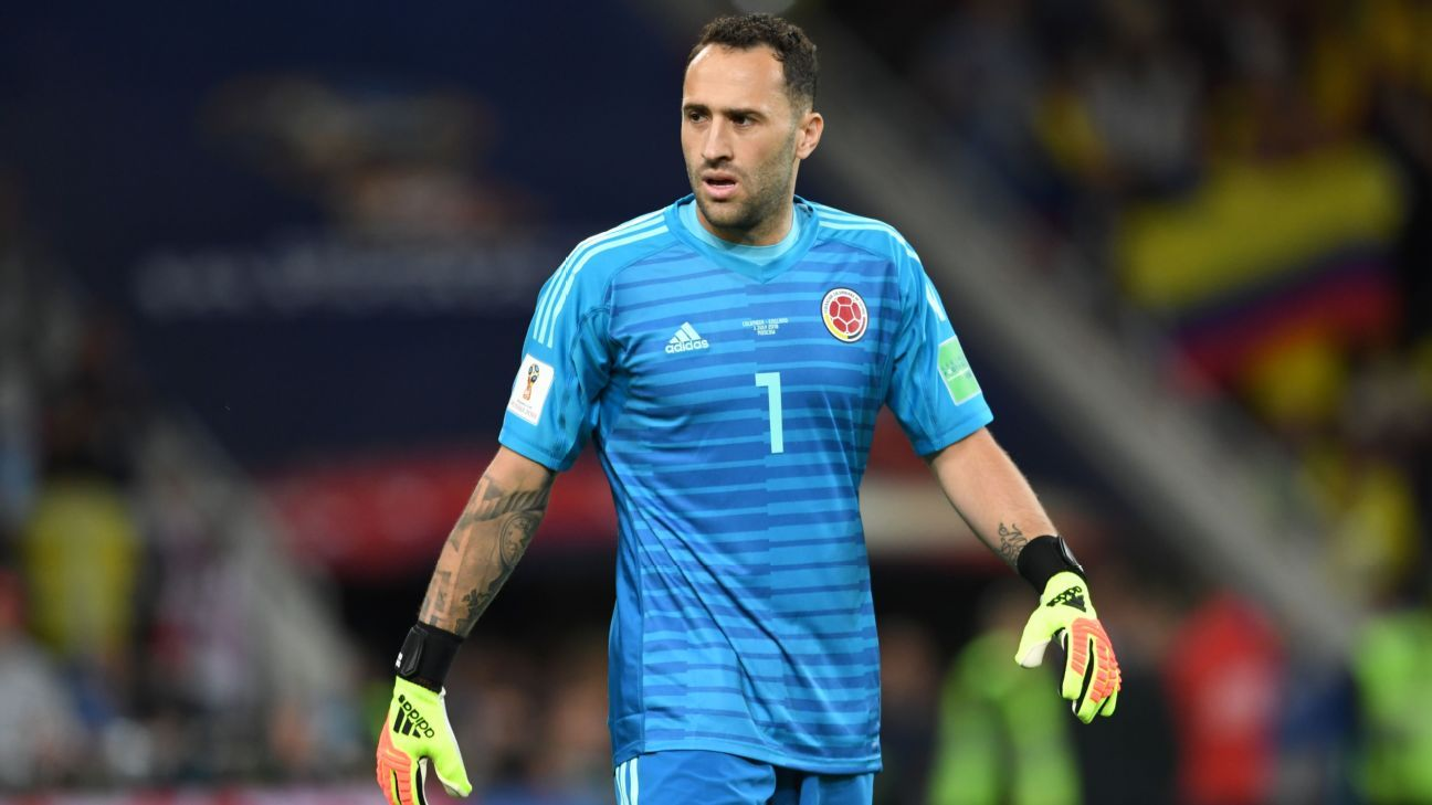 Arsenal's Ospina completes loan move to Napoli