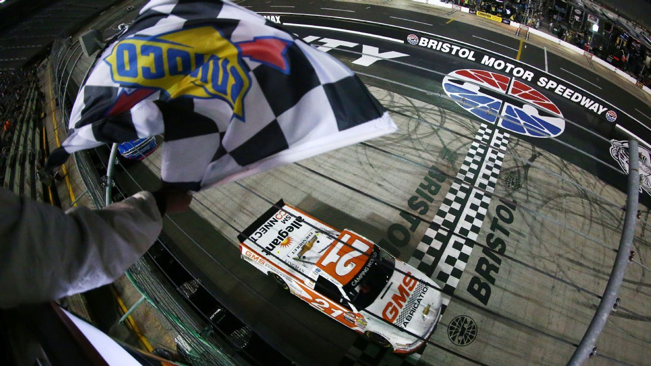 Camping World Truck Series Bristol 2018 Nascar Race Info