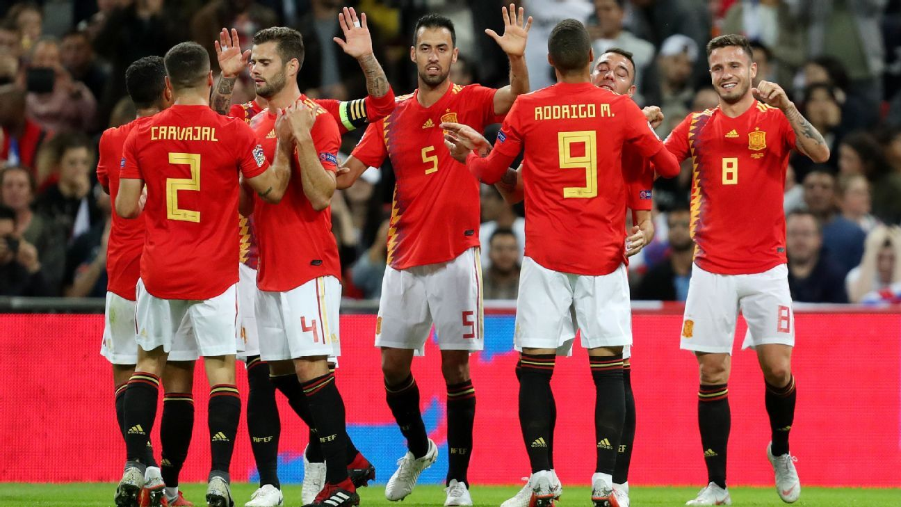 Spain give England post-World Cup reality check with Nations League win