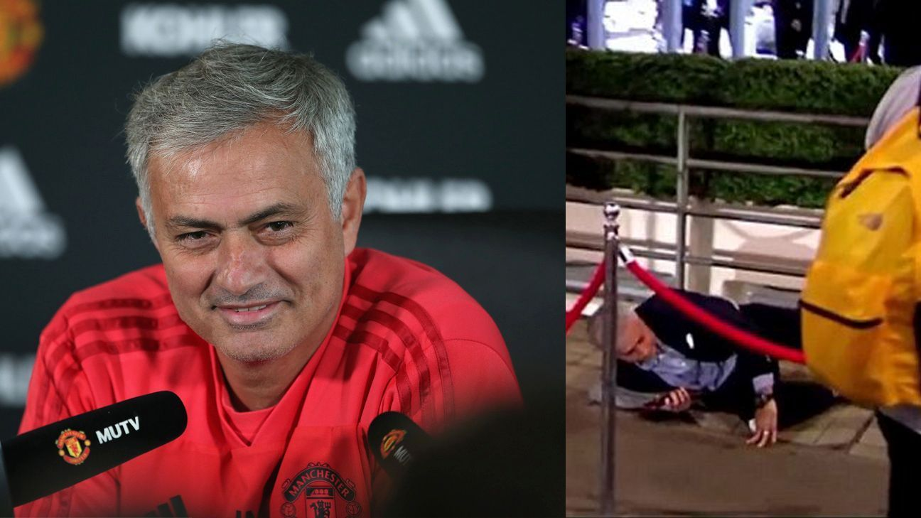 Jose claims fall was on purpose: 'It was a good dive!'