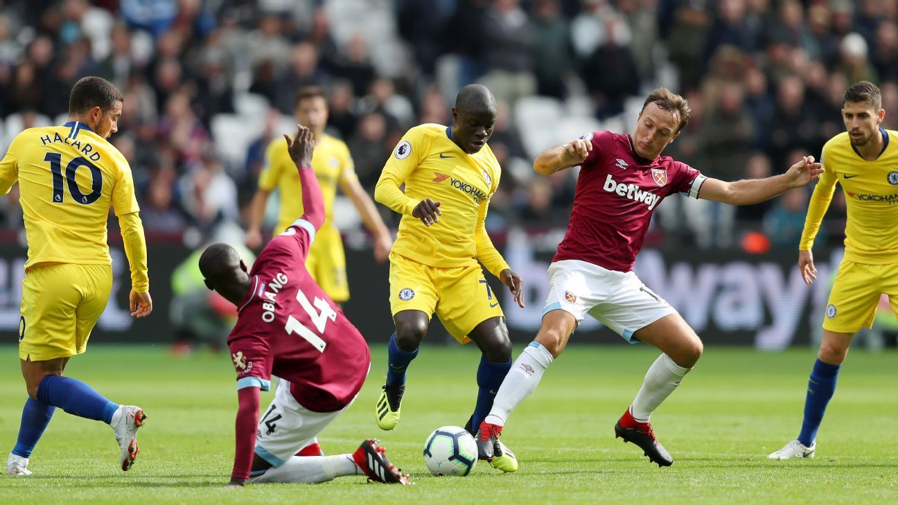 Sarri must not waste Kante's talents