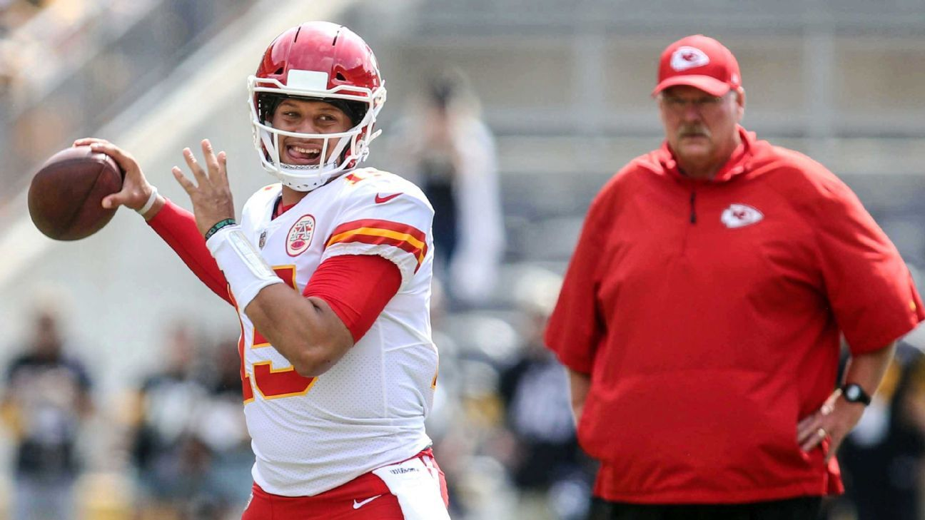 Patrick Mahomes arrived in Kansas City with a reputation for taking some risks. The Chiefs have mostly coached that out of him, but have left the good.