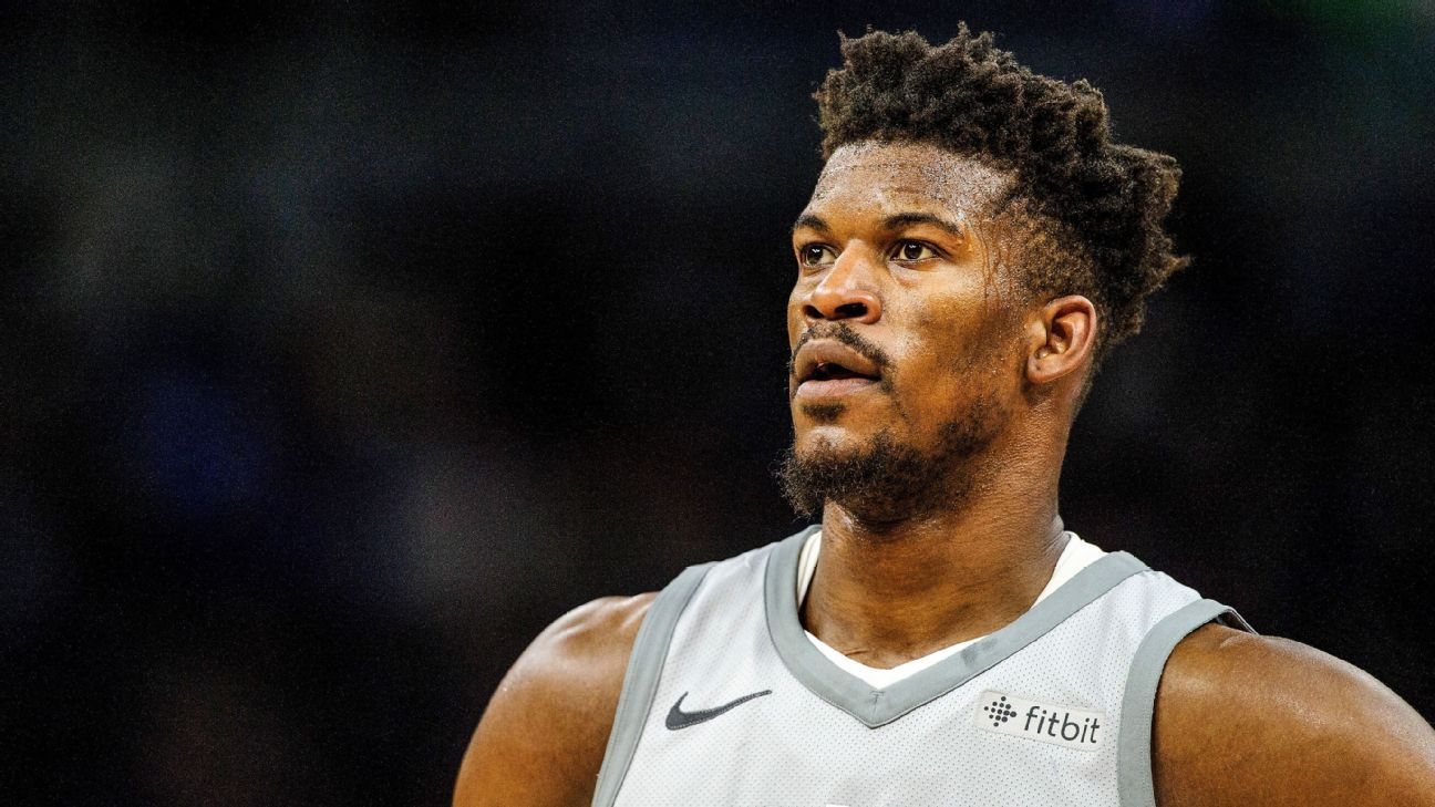 Jimmy Butler has heated practice with Timberwolves