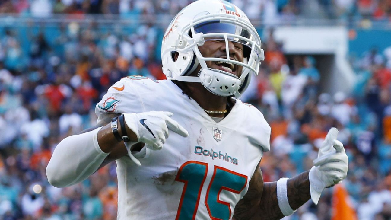 The Dolphins were on the brink of a devastating defeat more than once on Sunday, but Miami came through in a wild overtime victory.