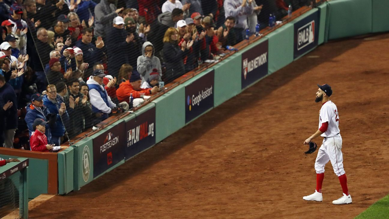 Following a span in which his teams went 0-10 in his 10 career postseason starts, David Price pitched just well enough to keep the Red Sox in Sunday's ALCS Game 2 -- which they won -- and was given an ovation by the Fenway Park crowd.