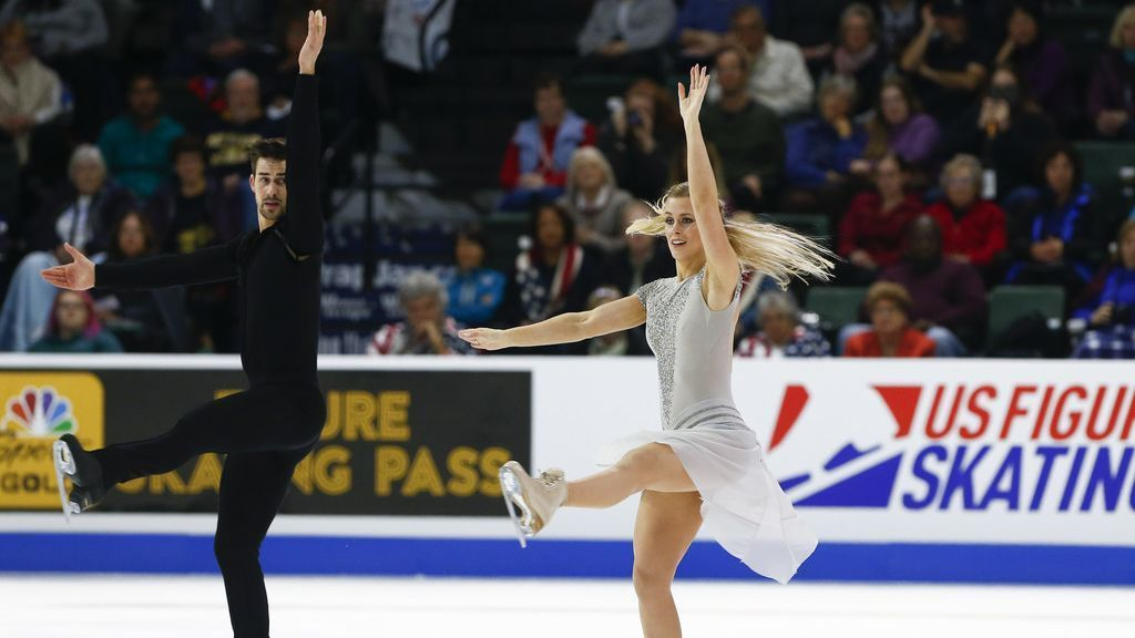 USA's Hubbell, Donohue win Skate America