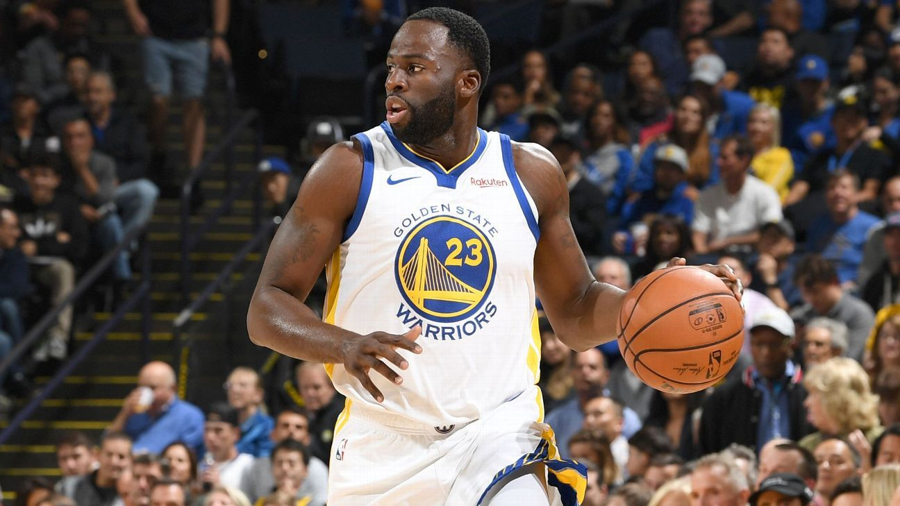 Draymond Green of Golden State Warriors out vs. Milwaukee Bucks with sprained toe