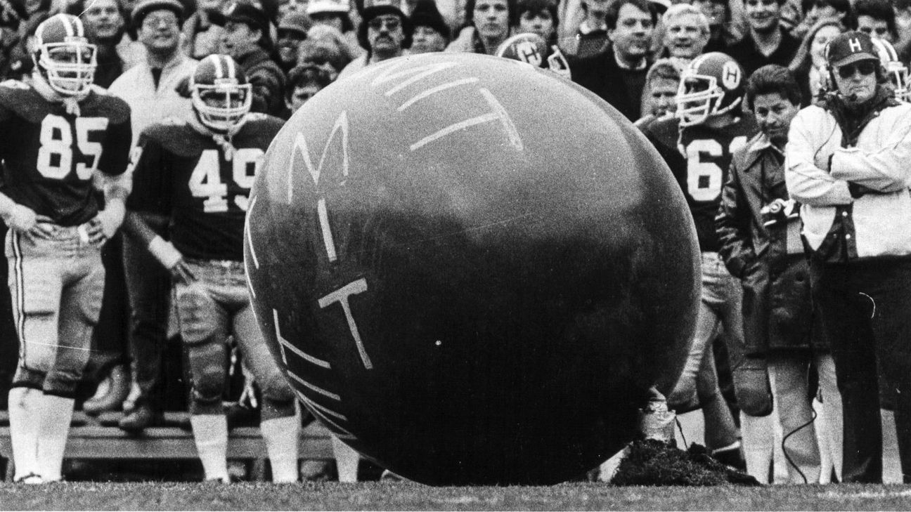 Frat boys, an 8-foot balloon and CFB's best prank ever