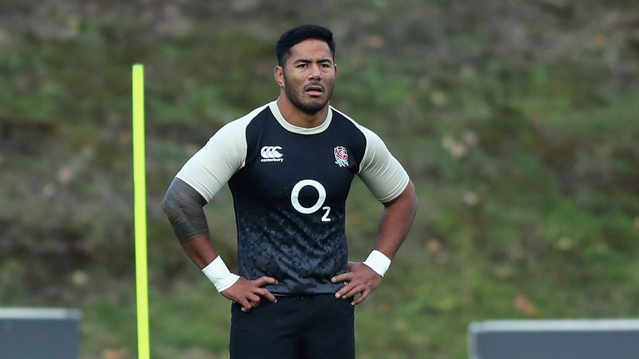 England's Manu Tuilagi, Dylan Hartley named on bench for Australia